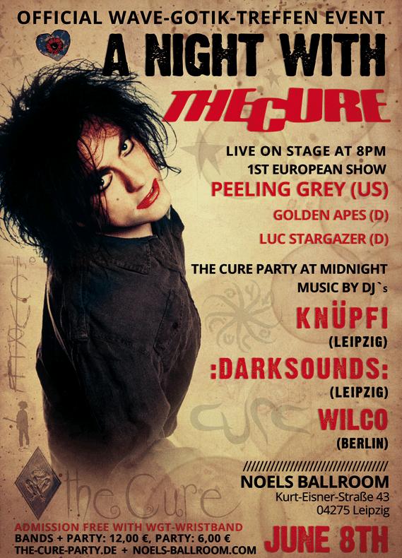Wave-Gotik-Treffen The Cure Party