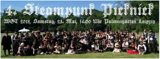 Wave Gotik Treffen Steampunk Picknick 2015